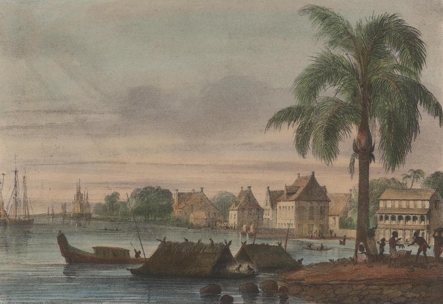 Voyage a Surinam - Vue de Paramaribo (1839)