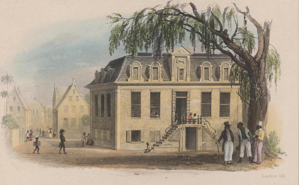 Voyage a Surinam - Le Palais de Justice (1839)