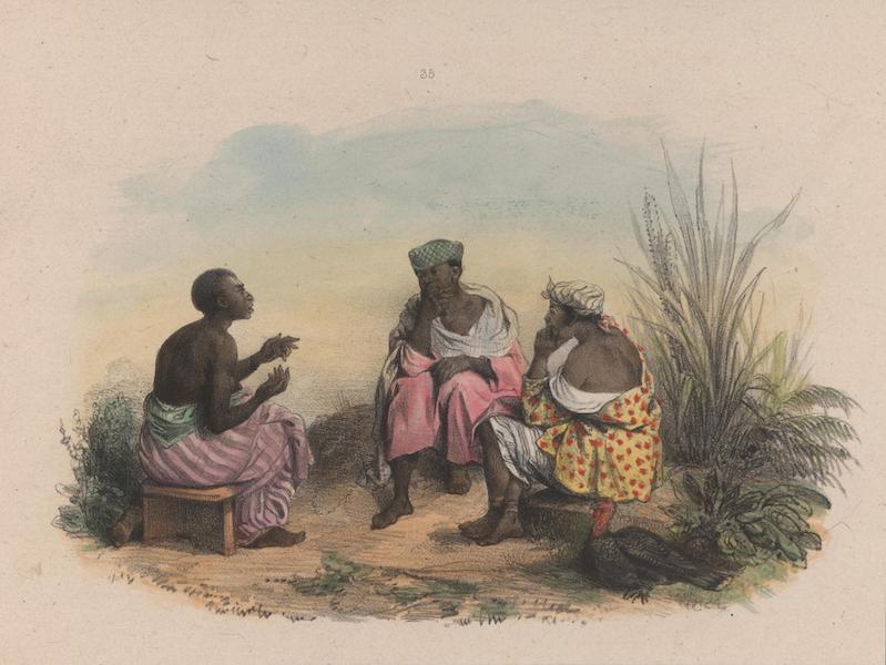 Voyage a Surinam - Negresses faisant le Takie-Takie (1839)