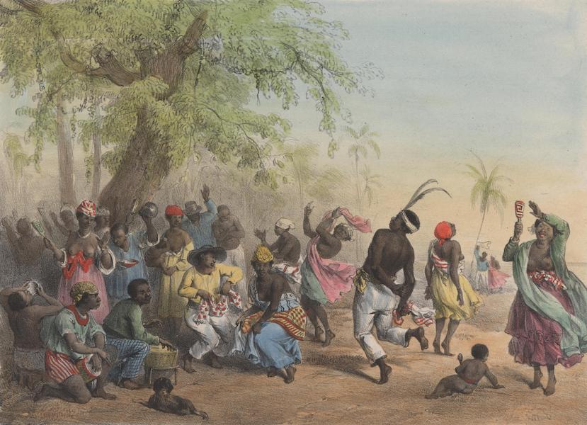 Voyage a Surinam - Le Dou, ou grande fete des esclaves (1839)
