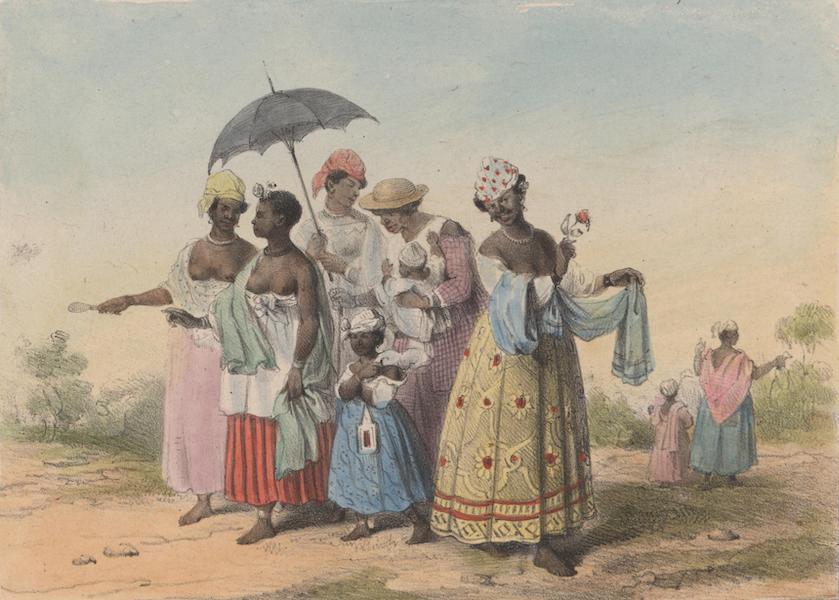 Voyage a Surinam - Esclaves allant au Dou (1839)