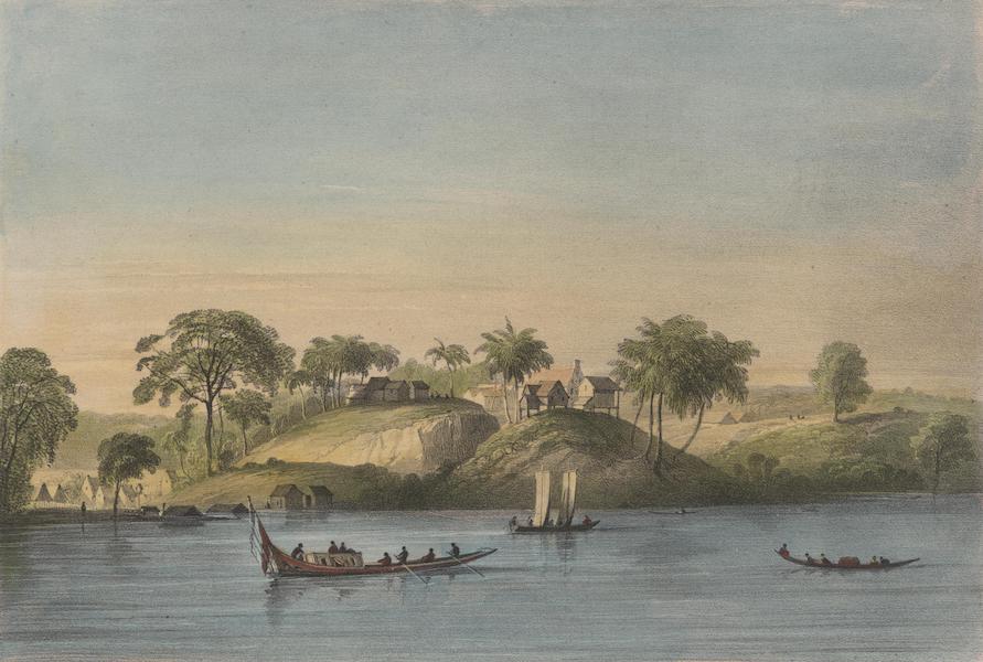 Voyage a Surinam - Vue de la Savane des Juifs sur la riviere de Surinam (1839)