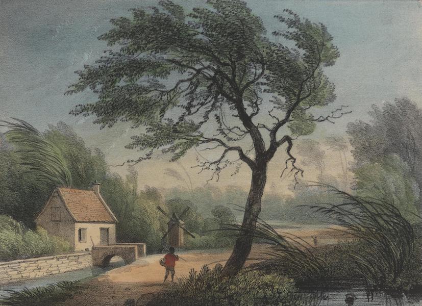 Voyage a Surinam - Interieur de cuisine (1839)