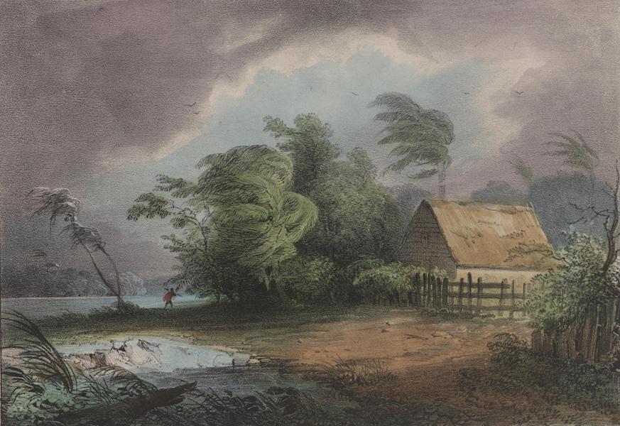 Voyage a Surinam - Autre habitation de negres (1839)
