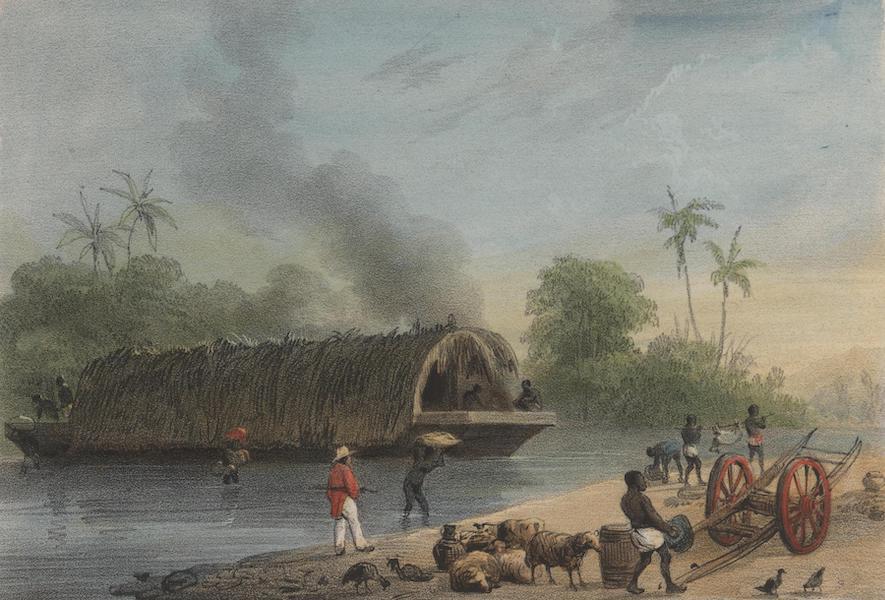Voyage a Surinam - Pont, ou embarcation (1839)
