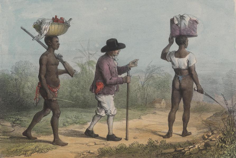 Voyage a Surinam - Planteurs se rendant a une plantation voisine (1839)
