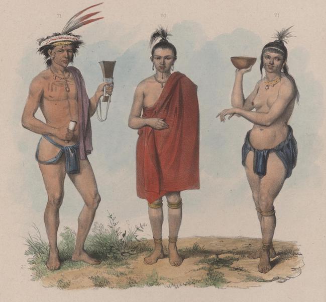 Voyage a Surinam - Caraibe tatouee (1839)