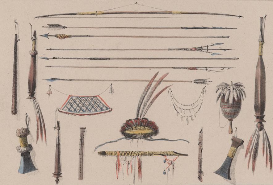 Voyage a Surinam - Armes et instruments divers (1839)