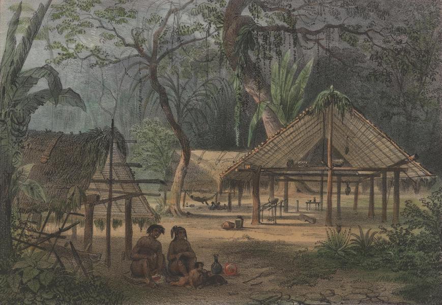 Voyage a Surinam - Un village indien (1839)
