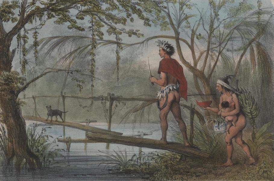 Voyage a Surinam - Indien partant pour la chasse (1839)