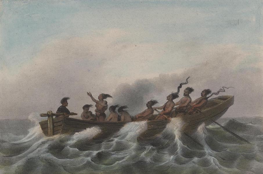 Voyage a Surinam - Pirogue indienne (1839)