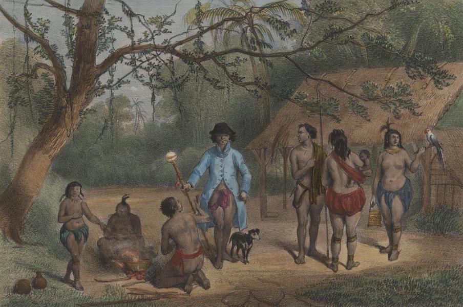 Voyage a Surinam - Une famille (1839)