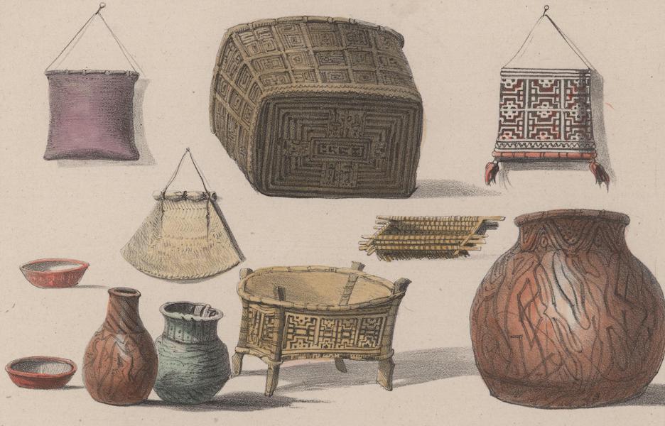 Voyage a Surinam - Ustensiles de menage (1839)