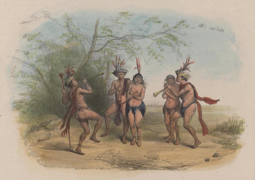 Voyage a Surinam - Danseurs (1839)