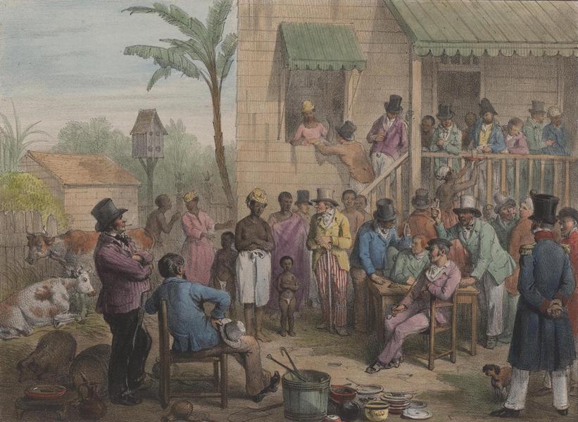 Voyage a Surinam - Vente d'une esclave (1839)
