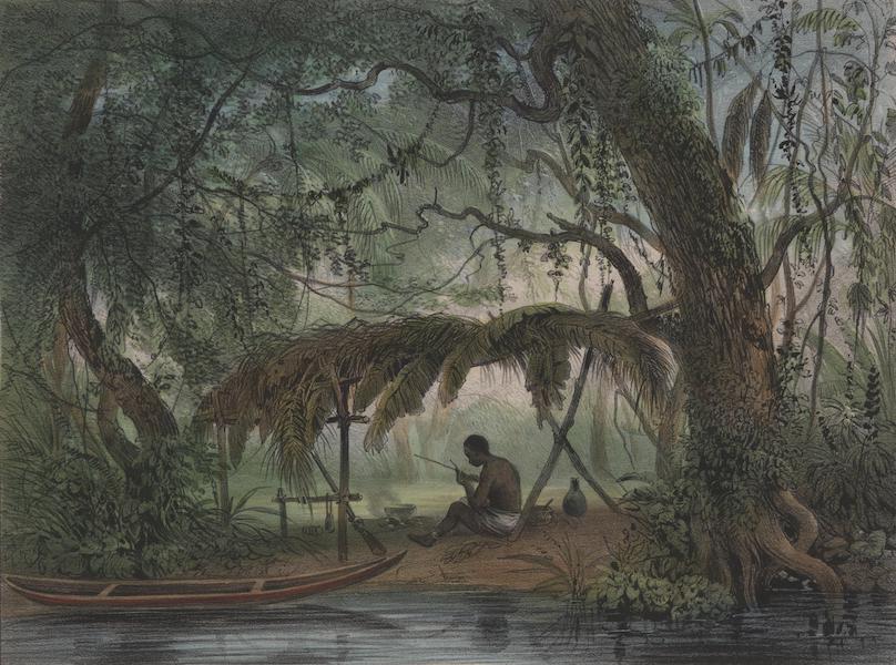 Voyage a Surinam - Un negre fugitif (1839)