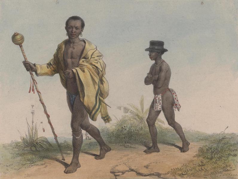 Voyage a Surinam - Un vieillard et son esclave (1839)