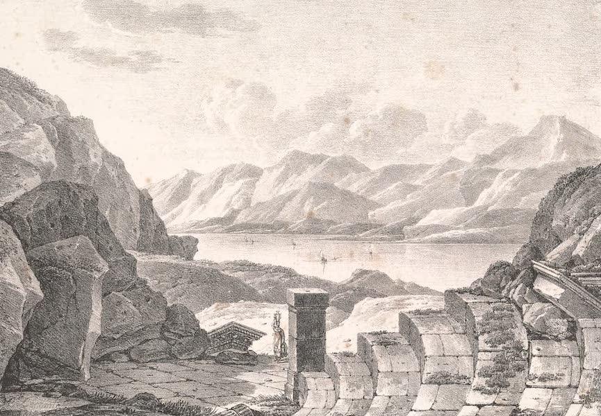 Voyage dans le Levant - Ruines du theatre de marbre blanc de Milo, l'ancienne Melos (1819)