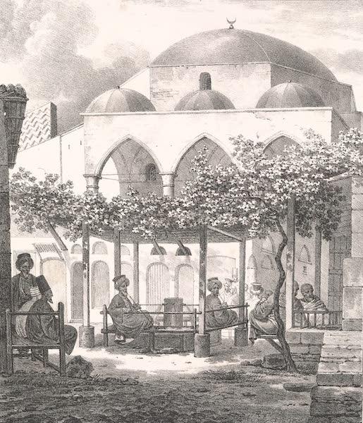 Voyage dans le Levant - Entree du bazar a Athenes (1819)