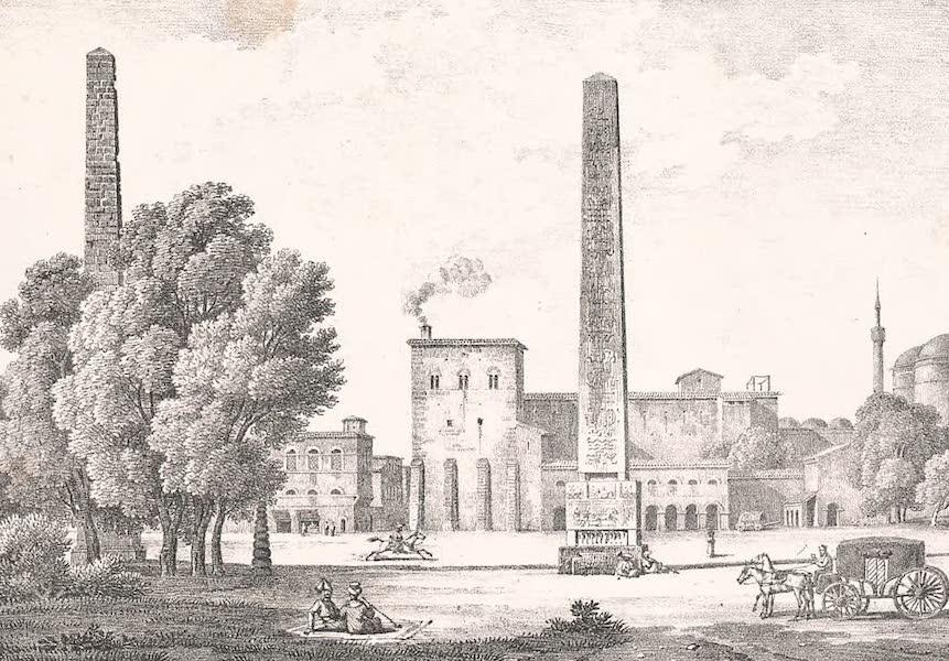 Voyage dans le Levant - Place de l'Atmeidan a Constantinople (1819)