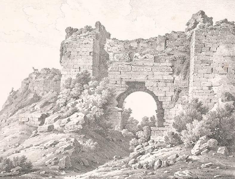 Voyage dans le Levant - Porte de la Persecution a Ephese (1819)
