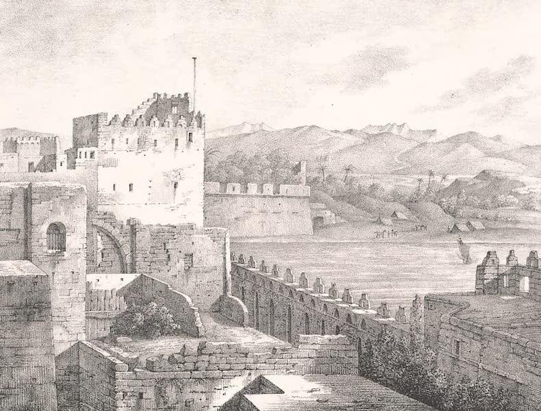 Voyage dans le Levant - Remparts de Saint-Jean-d'Acre (1819)