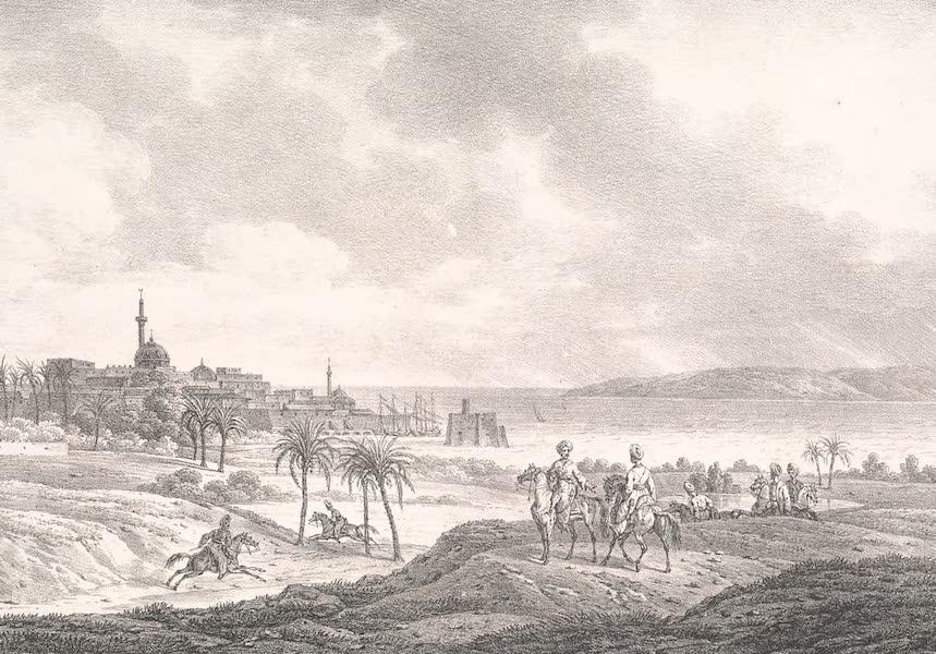 Voyage dans le Levant - Vue de Saint-Jean-d'Acre (1819)