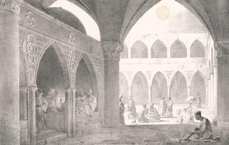 Voyage dans le Levant - Interieur du bazar de Saint-Jean-d'Acre (1819)