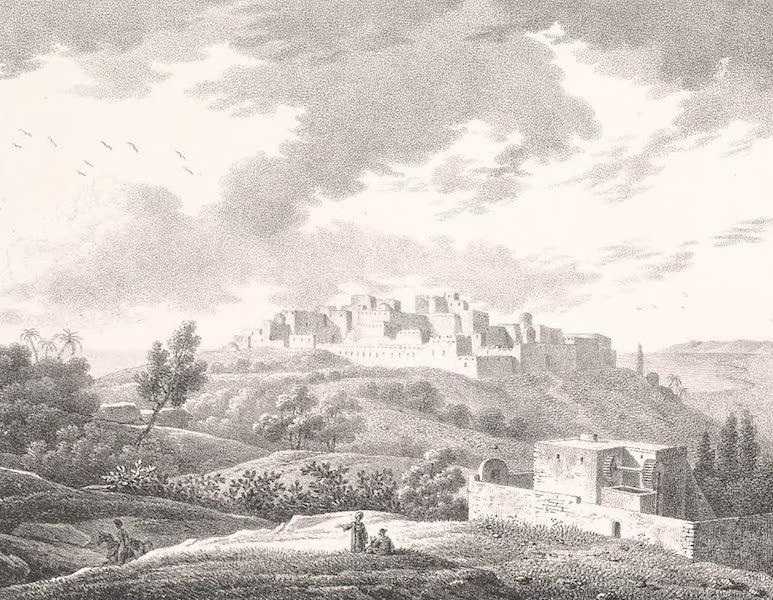 Voyage dans le Levant - Vue de Jafa (1819)