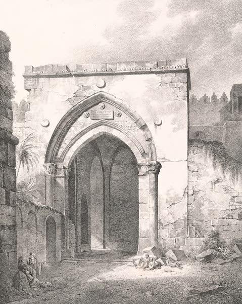 Voyage dans le Levant - Porte de Damas a Jerusalem (1819)