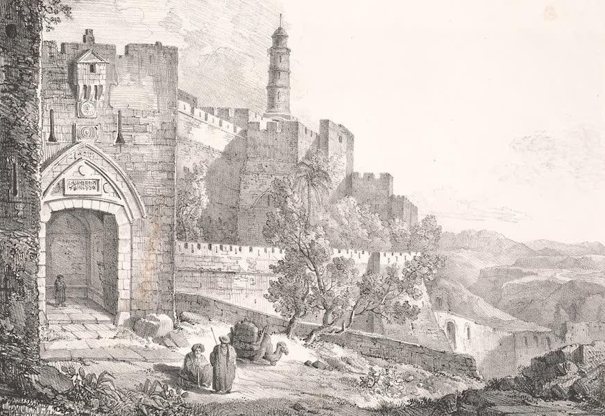 Voyage dans le Levant - Porte d'Ephraim a Jerusalem (1819)