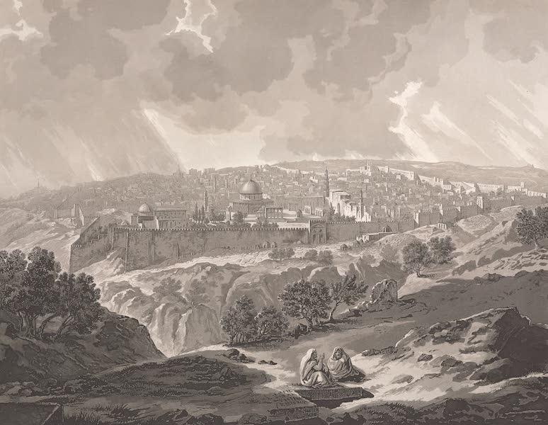 Voyage dans le Levant - Vue generale de Jerusalem (1819)