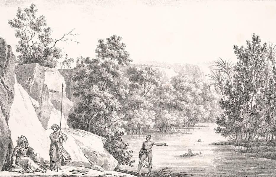 Voyage dans le Levant - Vue de la mer Morte (1819)