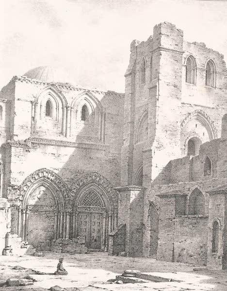 Voyage dans le Levant - Vue interieur de l'eglise du Saint-Sepulcre (1819)