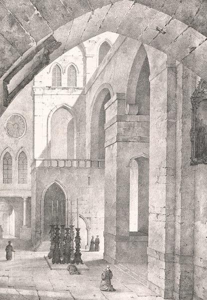 Voyage dans le Levant - Chapelle du Saint-Sepulcre (1819)