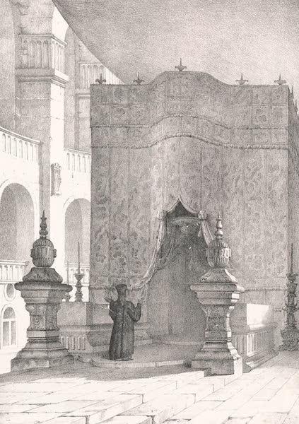 Voyage dans le Levant - Porte de l'Ecce Homo a Jerusalem (1819)