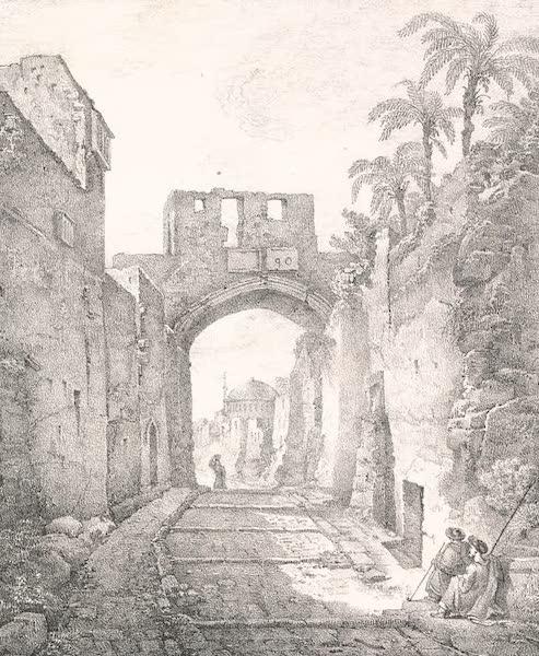 Voyage dans le Levant - Ruines de l'eglise de Saint-Pierre a Jerusalem (1819)