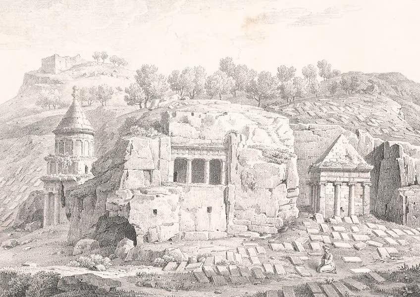 Voyage dans le Levant - Porte de Setty-Maryam et tombeaux des Mahometans a Jerusalem (1819)