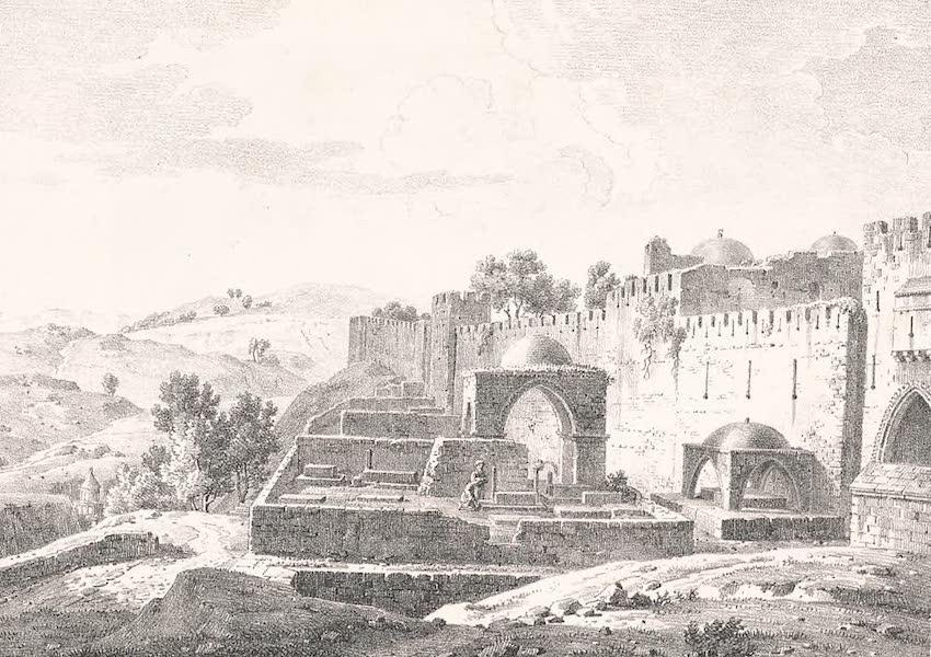 Voyage dans le Levant - Ruines de l'eglise de l'Ascension a Jerusalem (1819)
