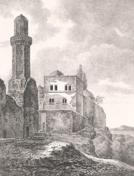 Voyage dans le Levant - Entree du sepulcre des Juges a Jerusalem (1819)