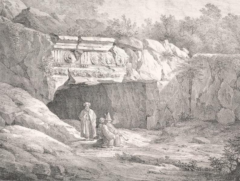 Voyage dans le Levant - Vue de Jeremie, chef-lieu de la tribu arabe d'Abou Goch (1819)