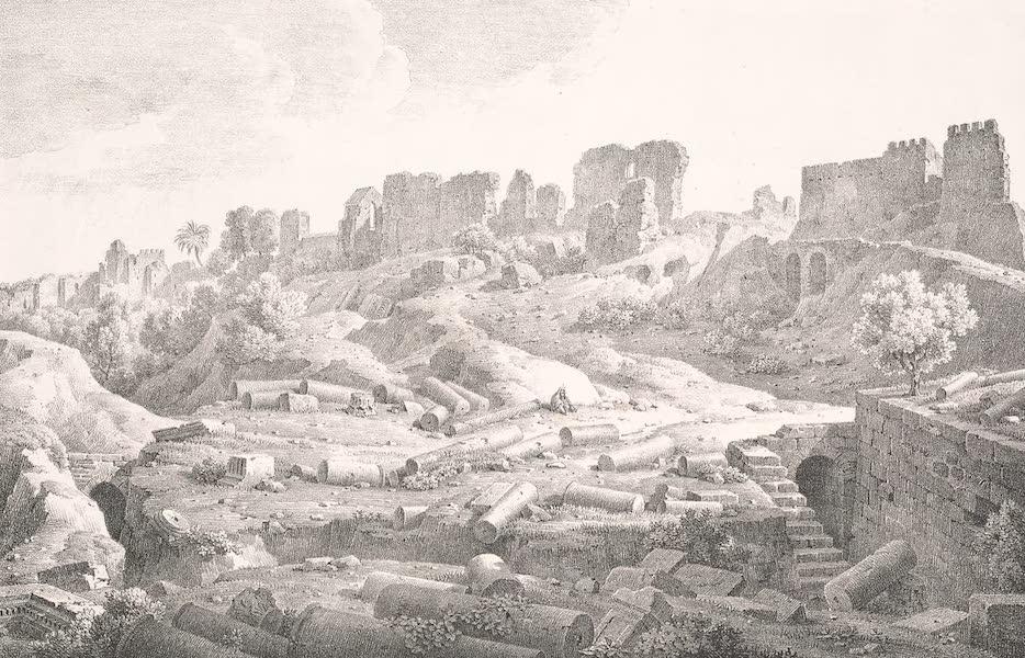 Voyage dans le Levant - Ruines d'Ascalon (1819)