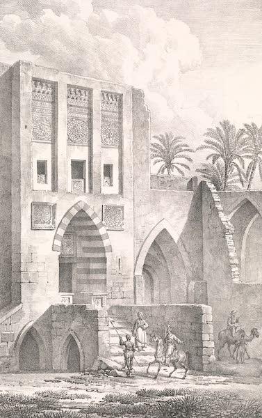 Voyage dans le Levant - Palais des Soudans a Gaza (1819)
