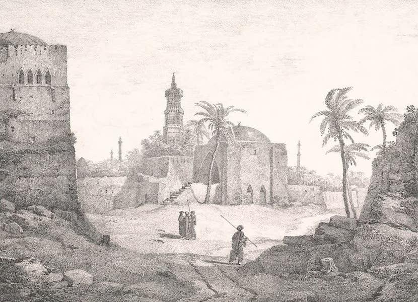 Voyage dans le Levant - Vue de Gaza (1819)