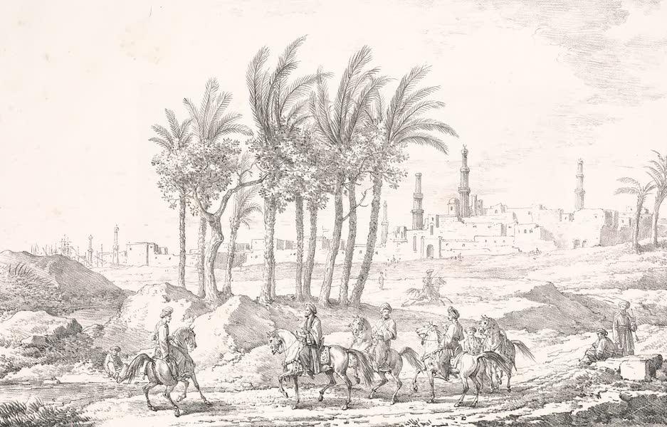 Voyage dans le Levant - Vue de Damiette (1819)