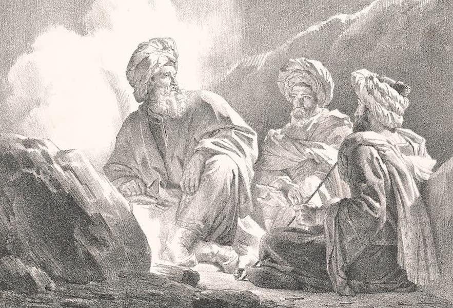 Voyage dans le Levant - Repos des Arabes (1819)