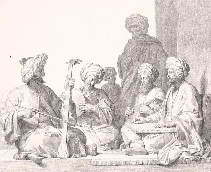 Voyage dans le Levant - Concert arabe (1819)
