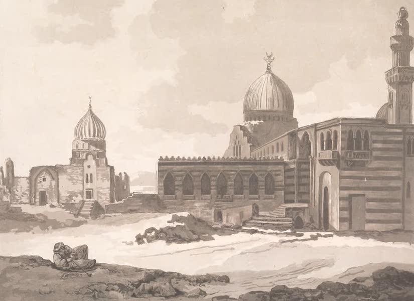 Voyage dans le Levant - Mosquees des tombeaux des sultans ayoubites et fatimites pres du Caire (1819)