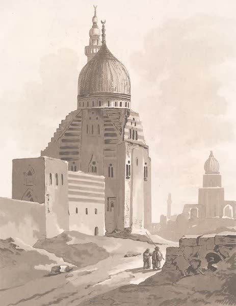 Voyage dans le Levant - Ruines de la mosquee de Sultan Amir pres du Caire (1819)