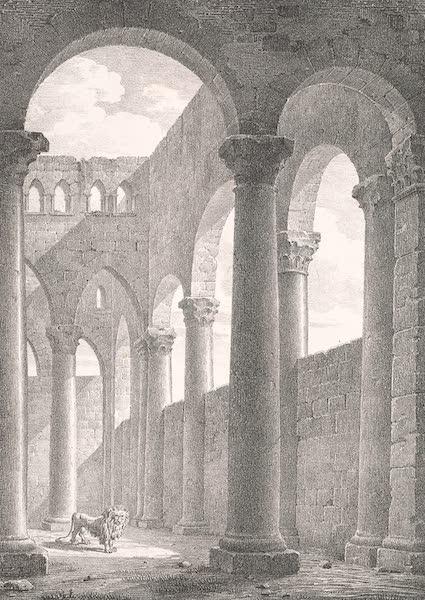Voyage dans le Levant - Interieur de la salle du palais de Salah ed-dyn dans le chateau du Caire (1819)